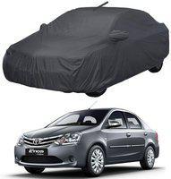 Dutek Car Cover For Toyota Etios (With Mirror Pockets)(Grey)