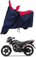 CARZEX Two Wheeler Cover for TVS(Victor New, Red, Blue)