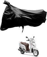 SRK SHOPPERS Two Wheeler Cover for Honda(Aviator, Black)