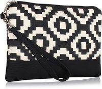 HOME HEART CELL PHONE WRISTLET Cosmetic Bag(Black)