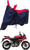 CARZEX Two Wheeler Cover for Bajaj(Pulsar AS 150, Blue, Red)