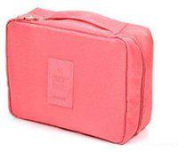 Divinext Toiletry Bag Travel Toiletry Kit(Pink)