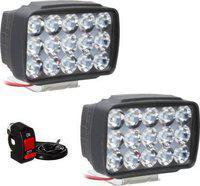 Petrox Fog Lamp, Headlight LED(Universal For Bike, Universal For Car, Pack of 2)