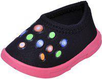 NEOBABY Boys & Girls Slip on Casual Shoes(Black)