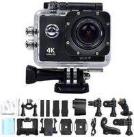 Pradarshan 4K Wifi 4K Sports Action Camera Ultra HD Waterproof DV Camcorder 16MP 170 Degree Wide Angle Sports and Action Camera Sports and Action Camera(Black, 16 MP)