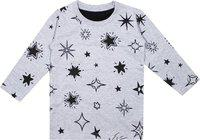 Luke and Lilly Boys Printed Cotton Jersey Full Sleeve Tshirt - Pack of 1 Grey