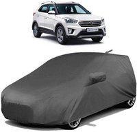 Dutek Car Cover For Hyundai Creta (With Mirror Pockets)(Grey)