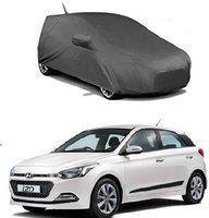 Dutek Car Cover For Hyundai Elite i20 (With Mirror Pockets)(Grey)
