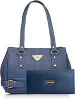 Fostelo Women Blue Messenger Bag(Pack of: 2)