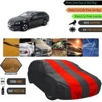 AutoGreat Car Cover For Skoda Octavia Combi (Without Mirror Pockets)(Multicolor)