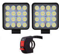 M Mod Con LED Fog Light For Volkswagen, Universal For Car, Maruti Suzuki, Honda, Toyota, Tata Universal For Car
