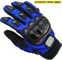 AOW ATTRACTIVE OFFER WORLD ATT-BLUE-XL-Z40 Riding Gloves(Blue)