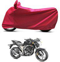 Bikenwear Two Wheeler Cover for Suzuki(Gixxer, Red)
