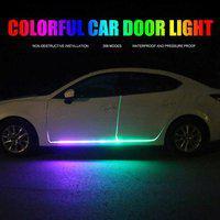 FABTEC MULTI COLOUR DOOR STRIP LIGHT Car Fancy Lights(Multicolor)