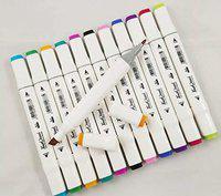 supeiorr 48 pastic Nib Sketch Pens(Set of 48, Multicolor)