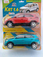 centy KRT 1.6 (BLUE & RED) COMBO PACK OF 2(Blue, Red, Pack of: 1)