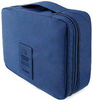 Kanha Travel Organizer Toiletry Bag For Men/Women Travel Toiletry Kit(Blue)