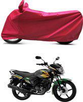 Bikenwear Two Wheeler Cover for Yamaha(Saluto, Red)