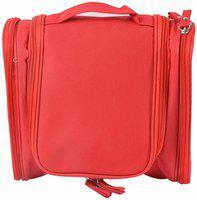 Everbuy Travel Toiletry Kit/Organiser (Red) Travel Toiletry Kit(Red)