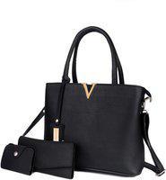 Mark & Keith Women Black Hand-held Bag
