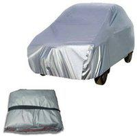 Anmol Car Cover For Fiat Uno (With Mirror Pockets)(Silver, For 2014, 2015 Models)