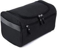 SUKHAD Toiletry Organizer Wash Bag Hanging Depp Kit Travel Toiletry Kit(Black)