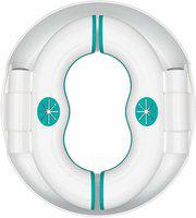 Quinergys 2 in 1 Toilet Trainer for Kids and Toilet seat Potty Seat(White, Green)