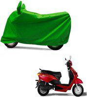 Kaaz Two Wheeler Cover for Universal For Bike(Yo, Green)