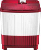 Panasonic 8 kg Semi Automatic Top Load Red, White(NA-W80H5RRB)