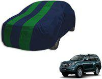 Autyle Car Cover For Toyota Prado (Without Mirror Pockets)(Blue, Green)