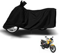 Autyle Two Wheeler Cover for Hero(Passion Pro, Black)