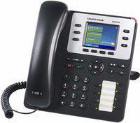 Grandstream GXP2130 V2 Corded Landline Phone(Black)