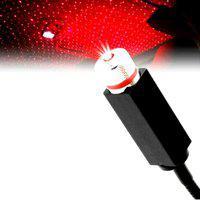 samrah Car Atmosphere Lamp Interior Ambient Star Light, Auto Roof Star Projector Lights USB Romantic LED Ceiling Decoration Night Light Car Dash Indicator Lamp