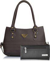 Fostelo Women Brown Messenger Bag(Pack of: 2)