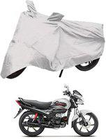Deltakart Two Wheeler Cover for Hero(Passion Pro, Silver)