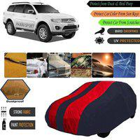 AutoGreat Car Cover For Mitsubishi Pajero Sport (Without Mirror Pockets)(Blue, Maroon)
