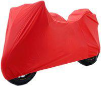 Water Proof Two Wheeler Cover for Ducati(Multistrada, Red)