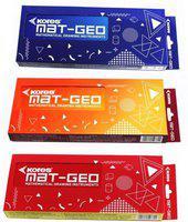 KORES Mat Geo Geometry Box - Set of 3 Geometry Box(Multicolor)