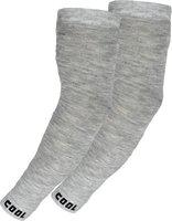 Cotson Cotton Arm Sleeve For Men & Women(Free, Grey)