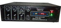 Kaxtang colour DJ AMPLIFIER PA BIG TRIPLE MIC HIGH CLARITY SOUND MIC 75 W Bluetooth Full Black Digital Stereo With BT/ USB//SD Card /FM /AUX 5000 W AV Power Amplifier(Black)