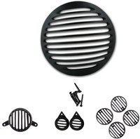 Gadget Deals Stylish Headlight, Tail Light, Parking Light, Indicator Grill Bike Headlight Grill(Black)