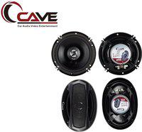 Cave Cave (Combo) Oval Car Speakers,6'/9' Rear Speakers With Cave 6 Inches Car Speakers with Tweeter, 6' Door Speaker. RJ-431 Coaxial Car Speaker(400 W)