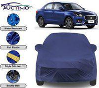 AUCTIMO Car Cover For Maruti Suzuki Dzire (With Mirror Pockets)(Blue)