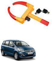 AutoSun ATZ-1495-120 Yellow Anti Theft Car Wheel Tyre Lock Clamp For Maruti Suzuki Ertiga Wheel Lock