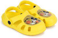 Mickey Boys Slip on Clogs(Yellow)