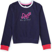 Cub McPaws Full Sleeve Printed Girls Sweatshirt