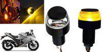 SHOP4U Brake Light, Indicator Light, Side Marker LED for Suzuki(Universal For Bike, Pack of 2)