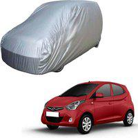 Anmol Car Cover For Hyundai Eon (With Mirror Pockets)(Silver, For 2014 Models)