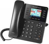 GRANDSTREAM GXP1635 Corded Landline Phone with Answering Machine(Black)