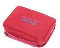 Everbuy toilletry bag Travel Toiletry Kit(Pink)
